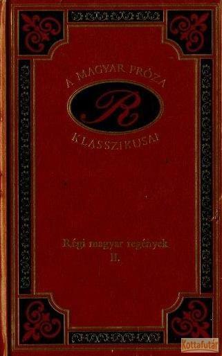 Régi magyar regények II.