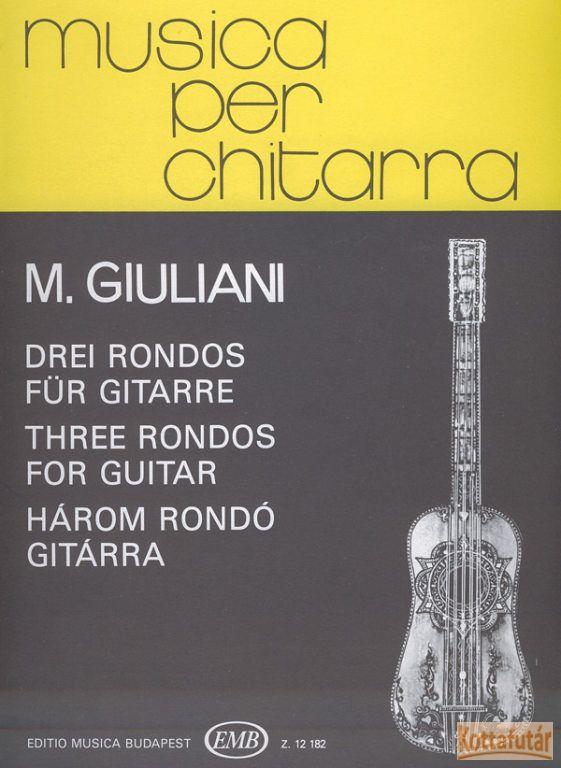 Három rondó gitárra