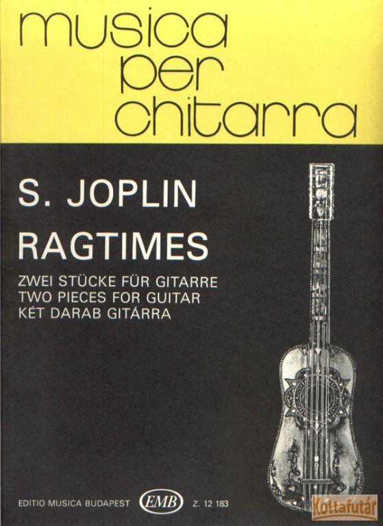 Ragtime 2 darab gitárra