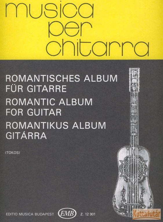 Romantikus album gitárra
