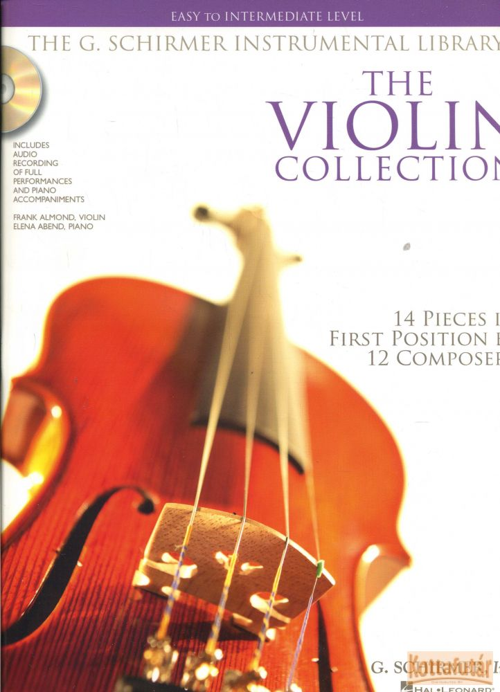 The Violin Collection - 14 pieces in first position by 12 composers