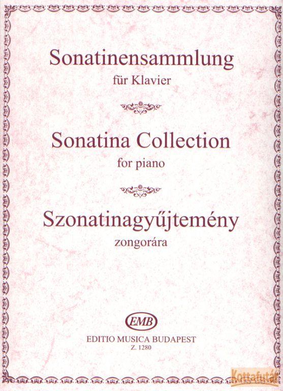 Szonatinagyűjtemény zongorára