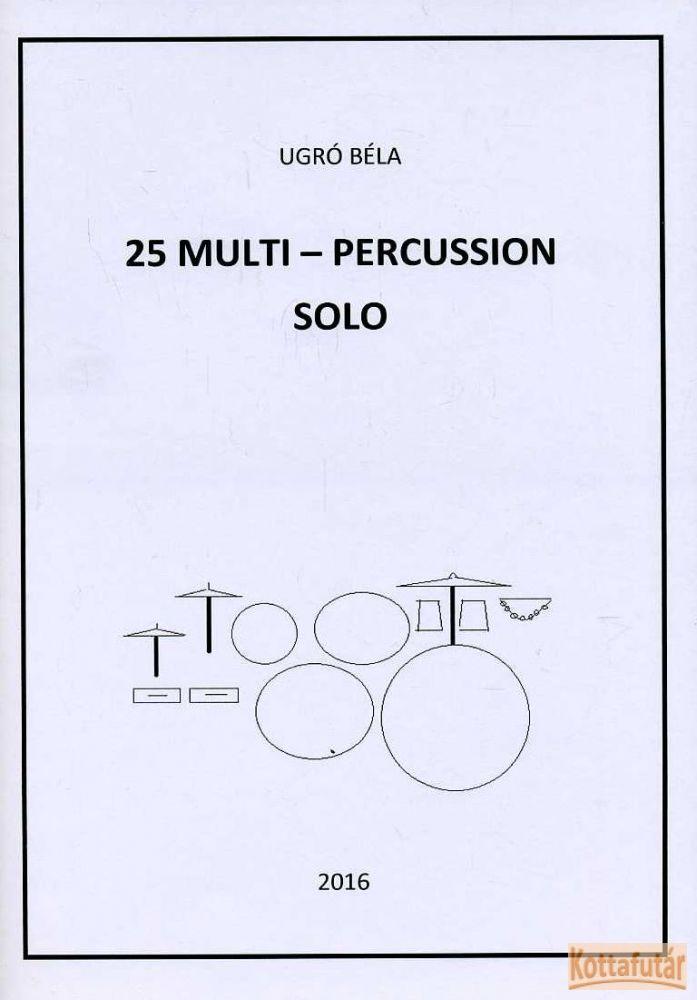 25 multi-percussion solo