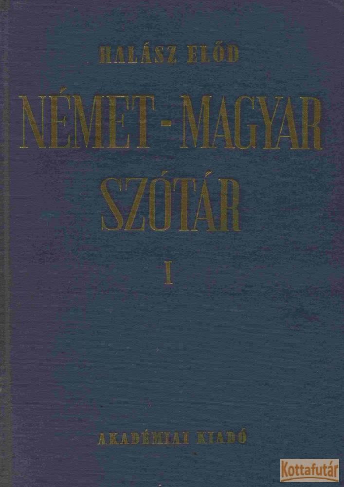 Német - Magyar szótár I-II. (1980)