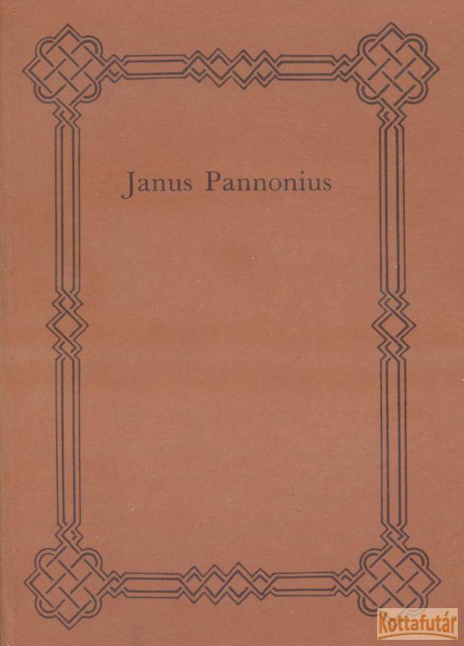 Janus Pannonius összes munkái