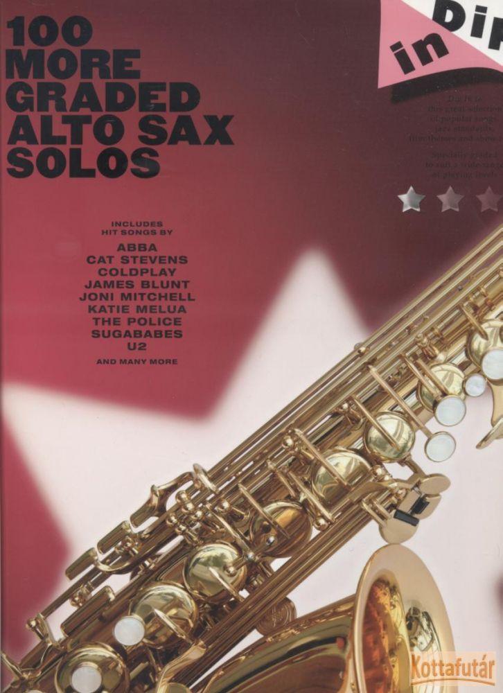 100 More Graded Alto Sax Solos