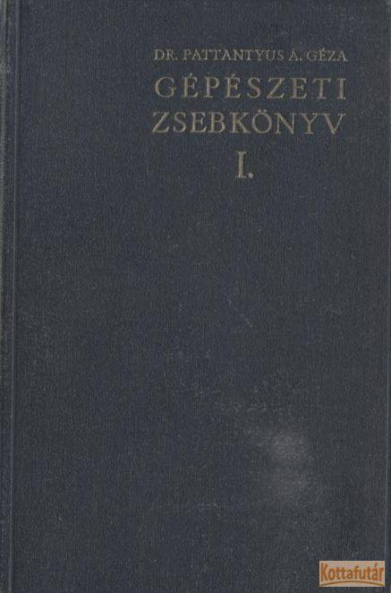 Gépészeti zsebkönyv I-II.