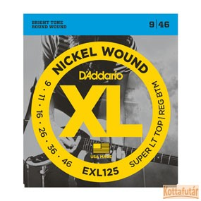 D'Addario EXL125 húrkészlet elektromos gitárra