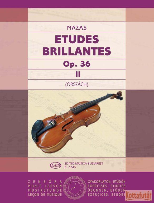 Etudes Brillantes Op. 36 II.