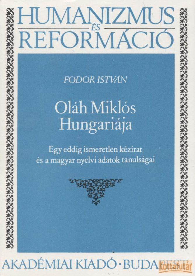 Oláh Miklós Hungariaja