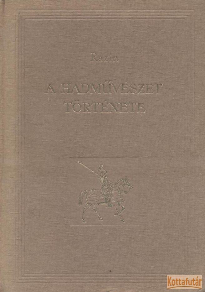 A hadművészet története II. kötet