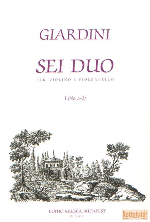 Sri Duo per violino e violoncello I.