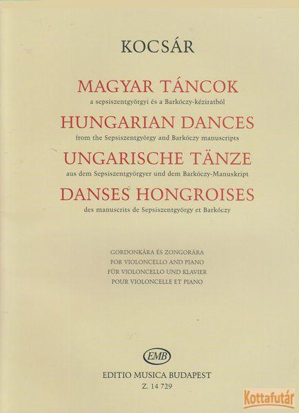 Magyar táncok a sepsiszentgyörgyi és a Barkóczy-kéziratból