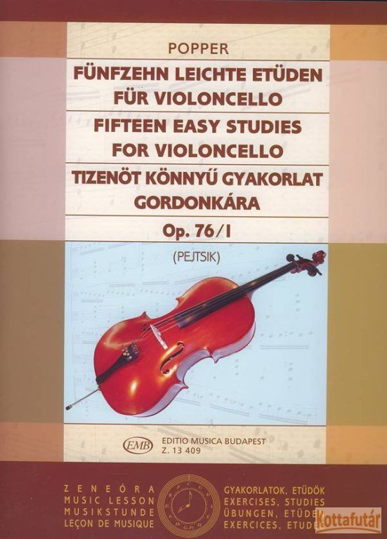 Tizenöt könnyű gyakorlat gordonkára Op. 76/I