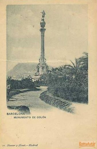 Barcelona - Munumento de Colón