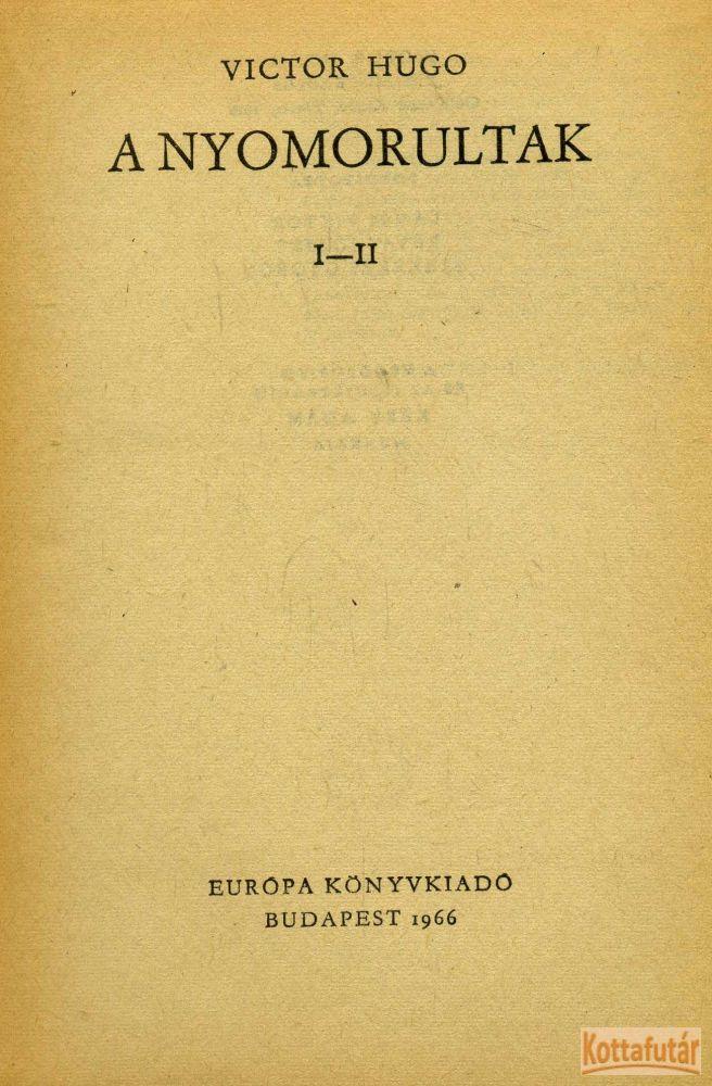 A nyomorultak (1966)