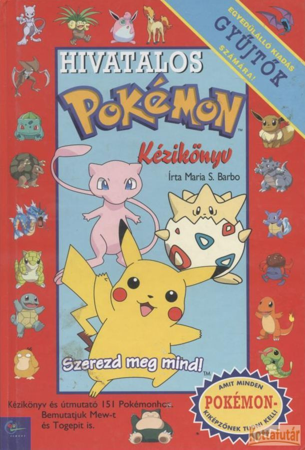 Hivatalos Pokémon kézikönyv