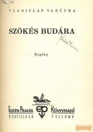 Szökés Budára