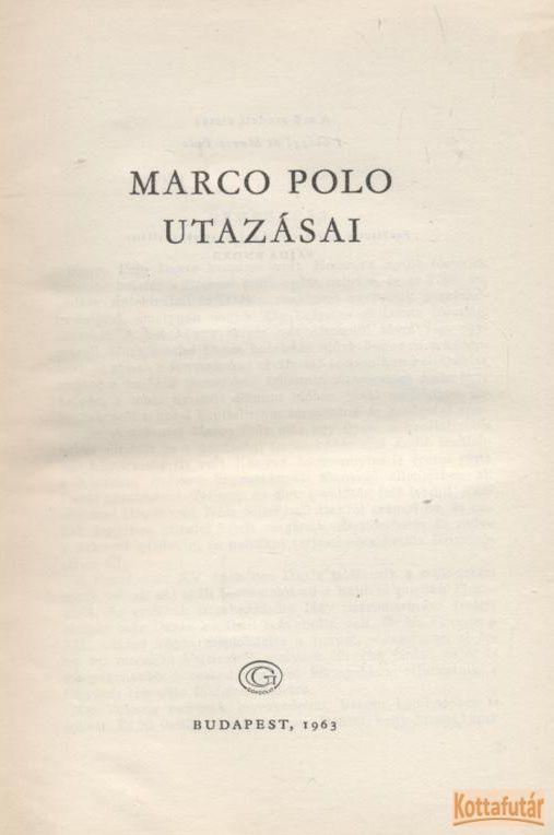 Marco Polo utazásai (1963)
