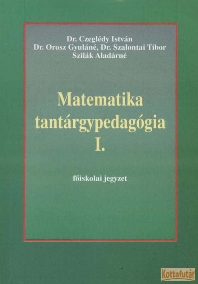 Matematika tantárgypedagógia I.