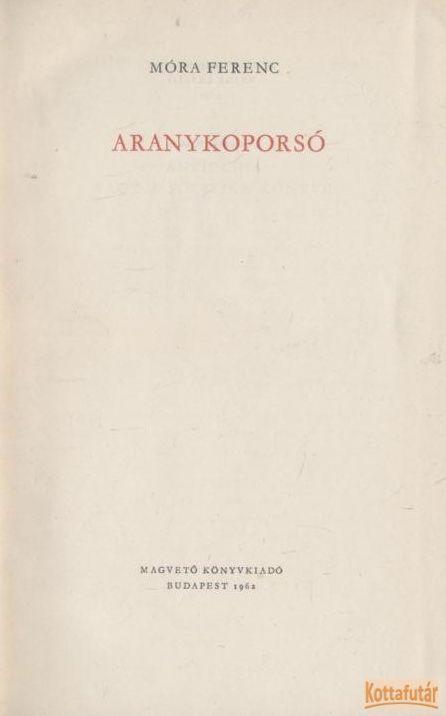 Aranykoporsó (1962)
