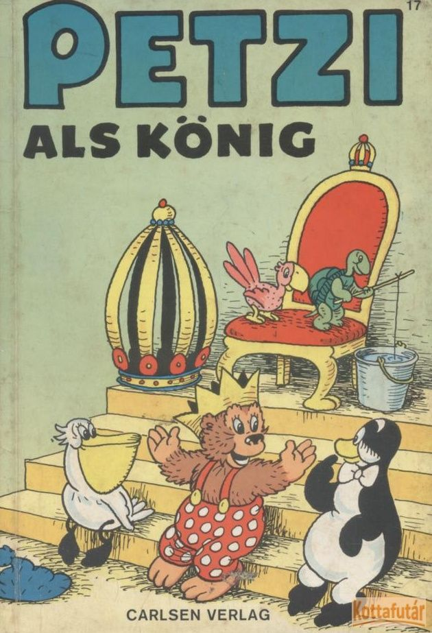 Petzi als König