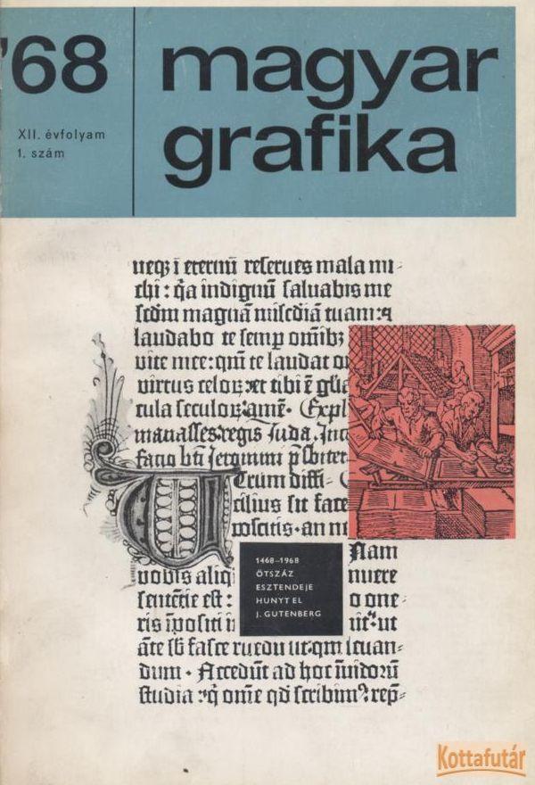 Magyar Grafika 1968. 1-6. szám