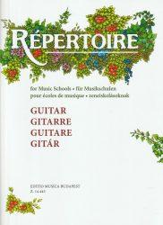 Repertoire zeneiskolásoknak - Gitár