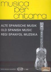 Régi spanyol muzsika