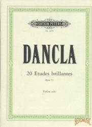 20 Etudes brillantes Opus 73
