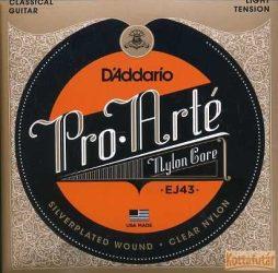D'Addario  EJ43 Pro Arté húrgarnitúra klasszikus gitárhoz