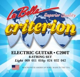 La Bella Criterion C200T húrgrnitúra elektromos gitárhoz