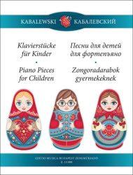 Zongoradarabok gyermekeknek