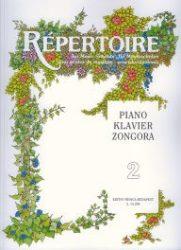 Repertoire zeneiskolásoknak - Zongora 2.