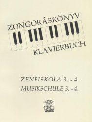 Zongoráskönyv 3-4.