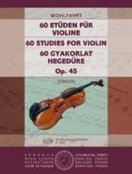 60 gyakorlat hegedűre Op. 45
