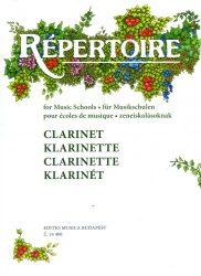 Repertoire zeneiskolásoknak - Klarinét
