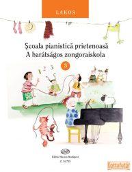 A barátságos zongoraiskola 3. (magyar és román nyelvű)