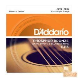 D'Addario EJ15 húrgarnitúra akusztikus gitárhoz.