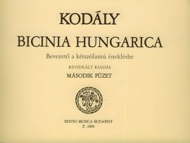 Bicinia hungarica 2