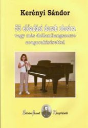 55 előadási darab oboára vagy más dallamhangszerre zongorakísérettel
