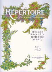 Repertoire zeneiskolásoknak - Furulya 2b
