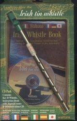 Ír furulya kottával és CD-vel (Irish tin whistle)