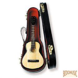 Mini gitár állvánnyal