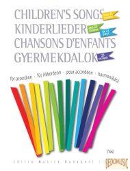 Gyermekdalok 23 országból harmonikára