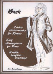 Kezdők zongoramuzsikája - Bach