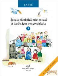 A barátságos zongoraiskola 1. (román és magyar nyelvű)