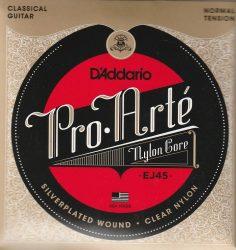 D'Addario Pro Arté EJ45 húrgarnitúra klasszikus gitárhoz