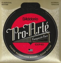 D'Addario EXP45 húrgarnitúra klasszikus gitárhoz