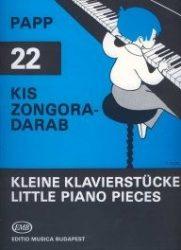 22 kis zongoradarab